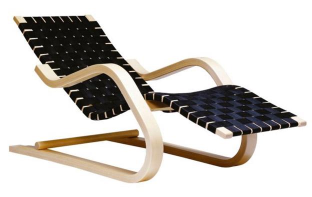 アルヴァ・アアルトがデザインした寝椅子 Model No.43
