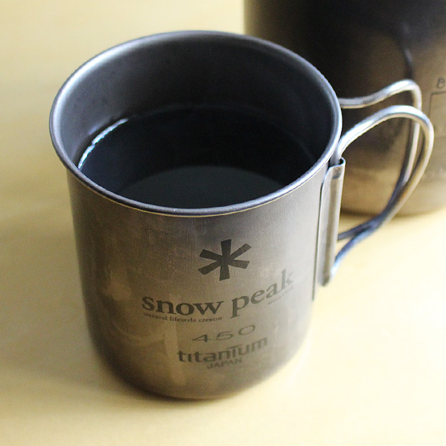 snow peak チタンマグ