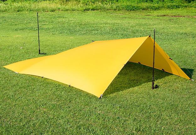 CAMP HOUSE/LOCUS GEAR Tarp X Duo Sil