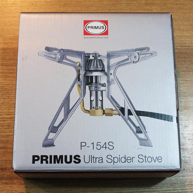 CAMP HOUSE/PRIMUS P-154S ウルトラスパイダーストーブを買ってみた