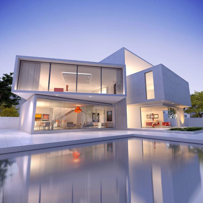 コンテナを使って家を建てる