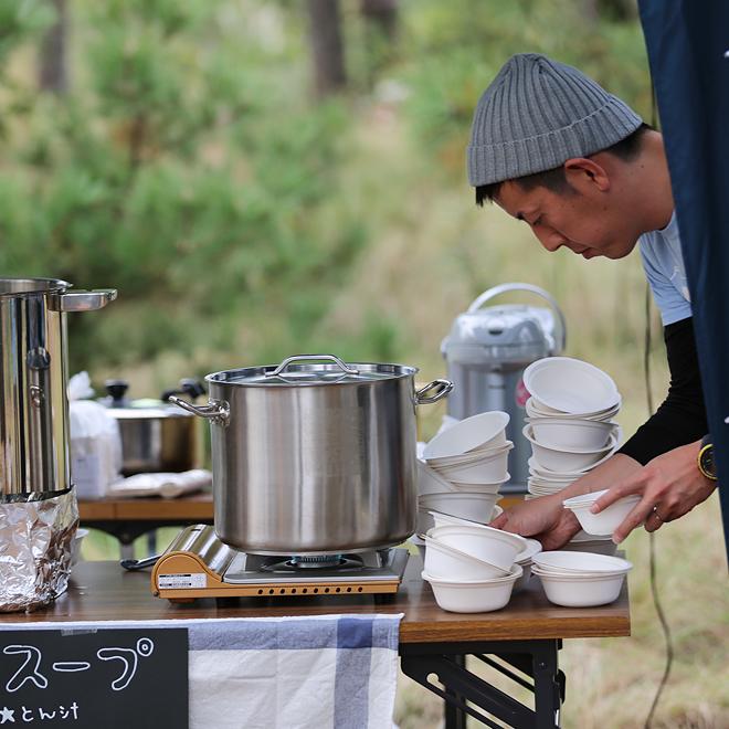 鳥取砂丘柳茶屋キャンプ場でのウェディング