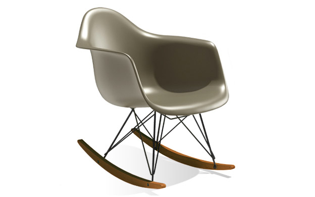 CAMP HOUSE/Eames Molded Plastic Arm Shell Chair<