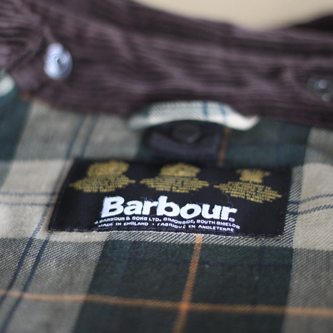 CAMP HOUSE/Barbour(バブアー)の異臭問題