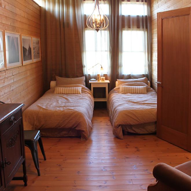 BESSの岡山展示場-ワンダーデバイス2階の寝室