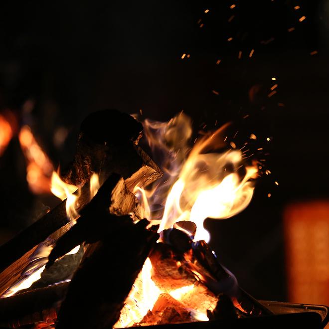 CAMP HOUSE/焚き火