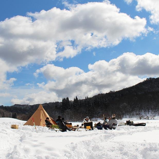 CAMP HOUSE/恩原高原での雪中キャンプ-最後のコーヒー