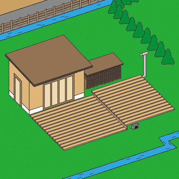 R町の土地をプライベートキャンプ場にするという妄想(ウッドデッキ編)