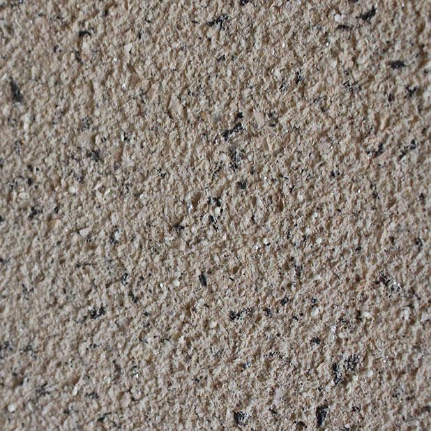 T町ハウスの砂壁