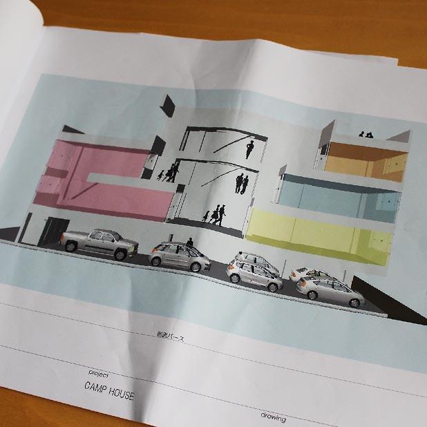T町キャンプハウス計画 - 概案と予算