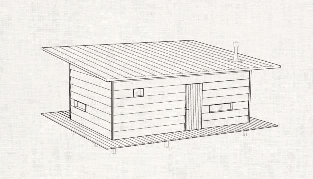 CAMP HOUSE/MUJI HUT
