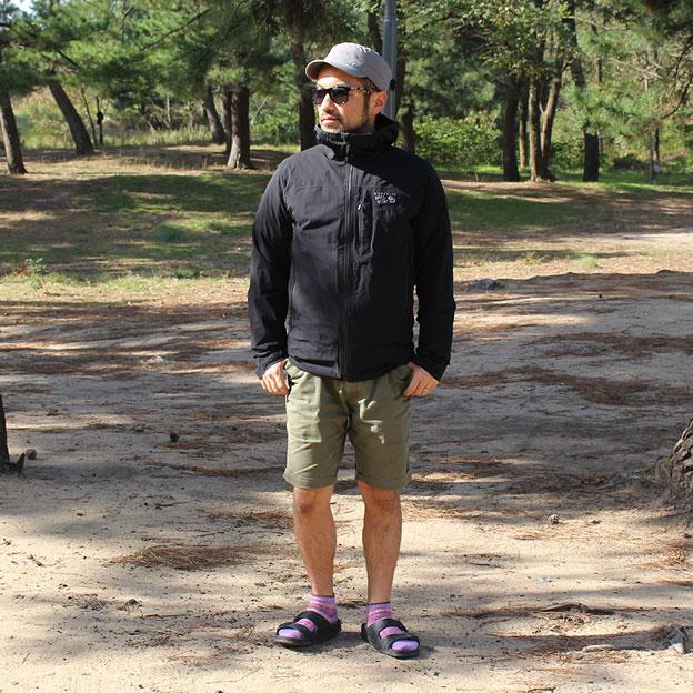 CAMP HOUSE/モンベル スペリオダウンラウンドネックジャケットを着てみた