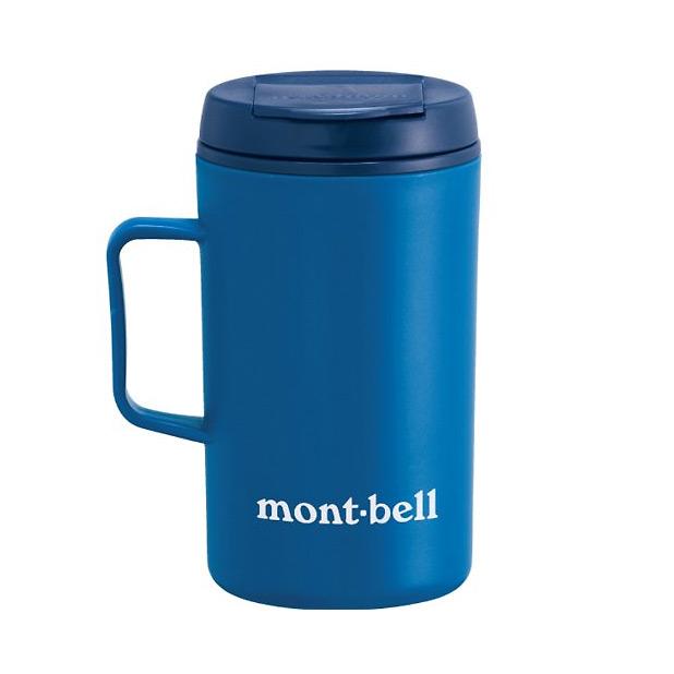 mont-bell サーモマグ330 モンベルロゴ ブルー 1124562