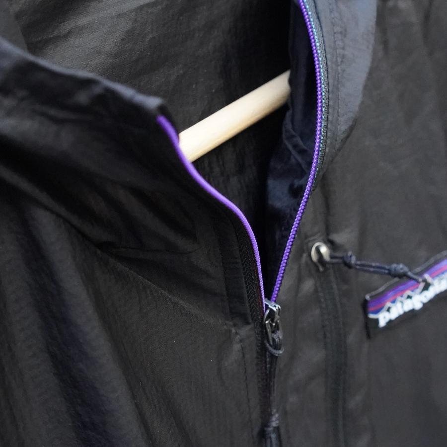 パタゴニア・フーディニ・ジャケット/Patagonia Houdini Jacket カラフルなファスナー