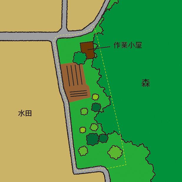 CAMP HOUSE/R町の鳥瞰図