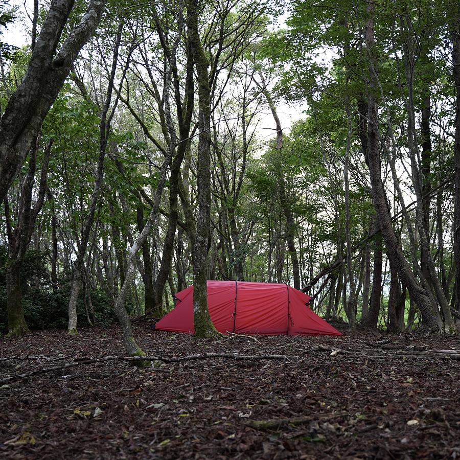 山林キャンプ-ヒルバーグナマッジ3GT