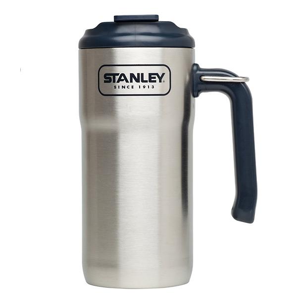 STANLEY スチールトラベルマグ 0.47L シルバー 01901-009