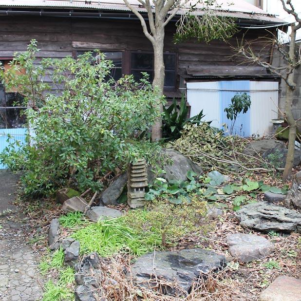 CAMP HOUSE/T町の庭の現状