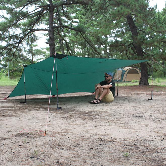 キャンプの道具-タープ-キャンプハウス