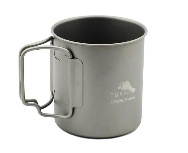TOAKS (トークス) チタニウム マグカップ CUP-450