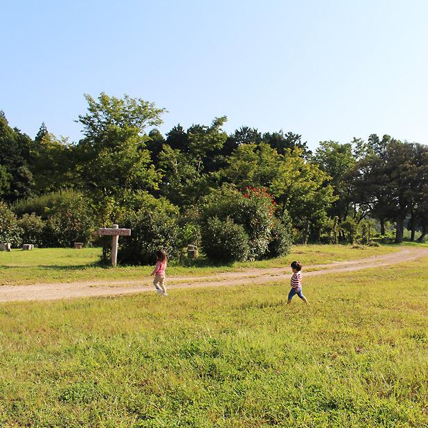 やまもり温泉キャンプ場-子どもが自由に遊ぶ